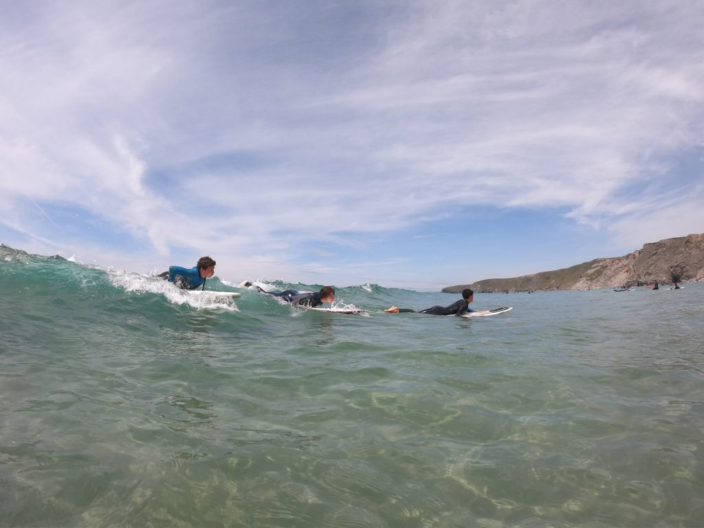 Surf and study course take off
