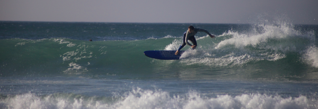 Improving surfing and Learning English